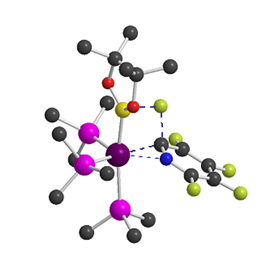 Transition State Geometry for boryl assisted C–F activation of pentafluropyridine by [Rh(PEt<sub>3</sub>)<sub>3</sub>(Bpin)]